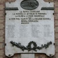 Bomba (Ch), lapide ai caduti di guerra