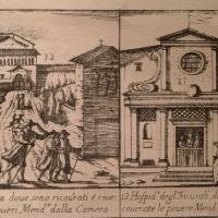 Bucchianico (Ch), incisione del 1675 sulla pesta che colpi Roma,