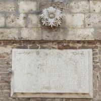 Celenza sul Trigno (Ch), chiesa di Santa Maria Assunta, elemento decorativo in facciata