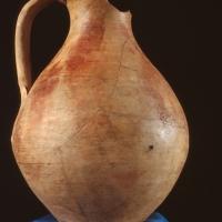 Crecchio (Ch), Museo dell'Abruzzo bizantino e altomedievale, brocca in ceramica con decorazione TIPO CRECCHIO