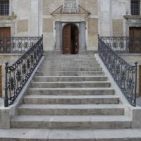 Furci (Ch), chiesa parrocchiale di San Sabino, scalinata