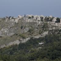 Gessopalena (Ch), veduta del paese vecchio abbandonato