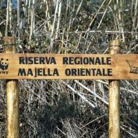 Lama dei Peligni (Ch), area naturalistica