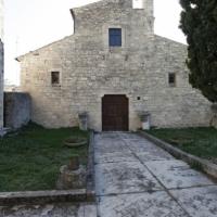 Lettopalena (Ch), abbazia di Santa Maria in Monte Planizio, facciata