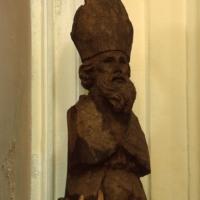 Pizzoferrato (Ch), chiesa di San Nicola, statua in legno