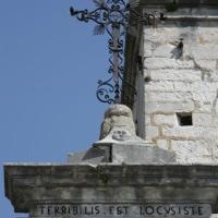 Pretoro (Ch), chiesa di San Nicola, croce in ferro battuto