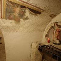 Rocca di Cambio (AQ), chiesa di Santa Lucia, cripta