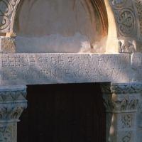 Capestrano (AQ, chiesa medievale di San Pietro ad Oratorium,