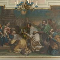 Villa Santa Maria (Ch), chiesa della Madonna in Basilica, tela di Francesco Maria De Benedictis, Adorazione dei Magi